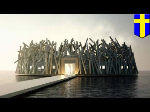 Floating hotel: Swedish team plan to build hotel and spa on river - TomoNews