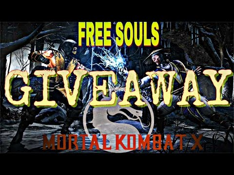 MKX FREE SOULS COINS & BLOOD RUBIES GIVEAWAY - MKX MOBILE 1.10 GAMEPLAY