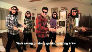 The Lazy Song (Tagalog Version)