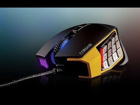 Corsair Scimitar Pro RGB Optical MOBA/MMO Gaming Mouse 16000 dpi
