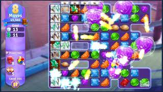 Wonka's World of Candy Level 351 - NO BOOSTERS + FULL STORY ???? | SKILLGAMING ✔️