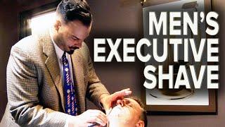 Men's Executive Straight Razor Shave | Featuring Master Barber Moustache Jim thumbnail