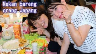 Reaksi CEWEK JEPANG makan TEMPE (Subtitle)
