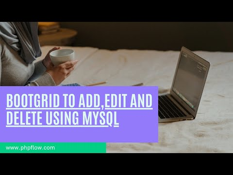 Add,Edit and Delete Record using Bootgrid , PHP and MySQL