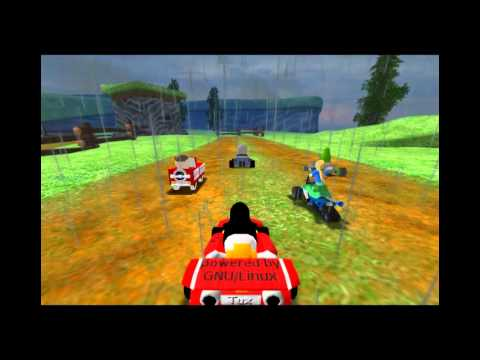 SuperTuxKart 0.8.1 OST - 05. Bluepiano - On The River [Around The Lighthouse]