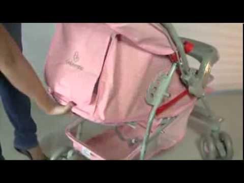 15f2dba494 Carrinho de Bebê Galzerano - Milano Reversível - YouTube