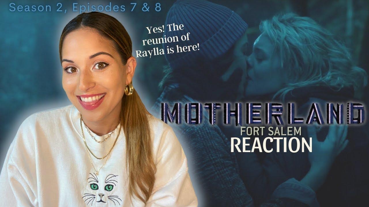 "Download Motherland"" Fort Salem Season 2, Episodes 7 & 8 Reaction - FINALLY, a Raylla Reunion!"