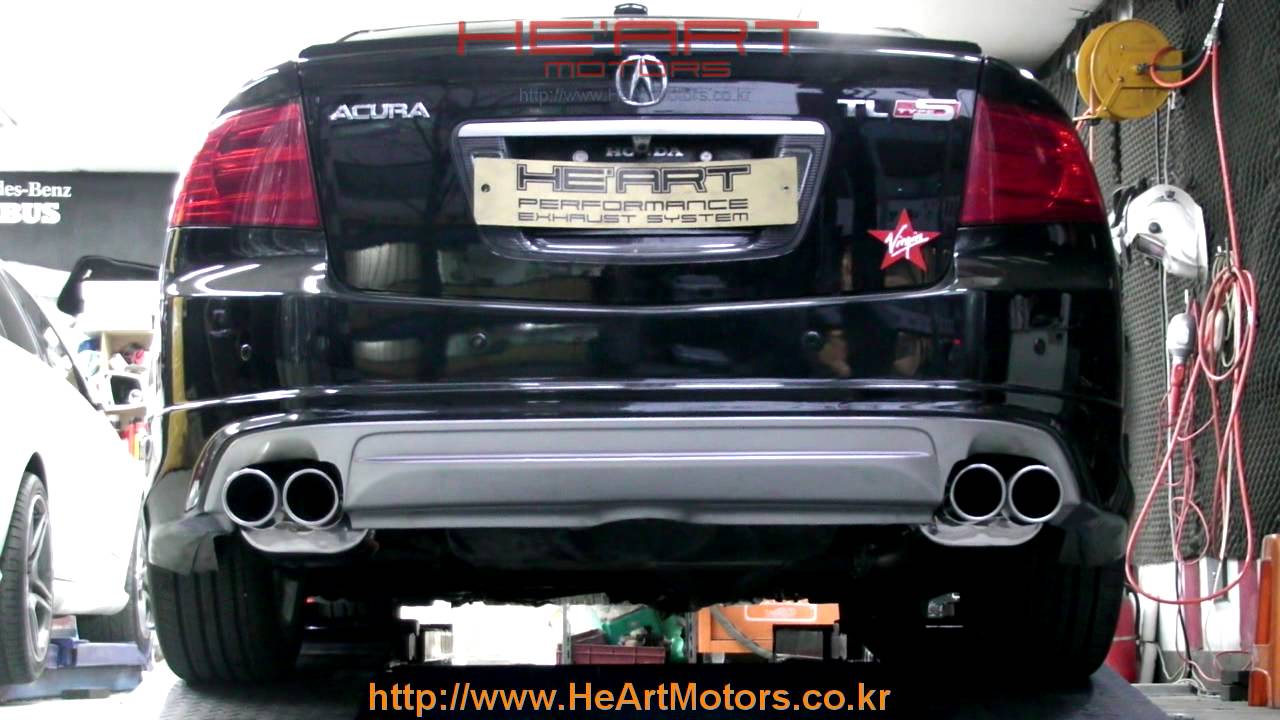 Honda Acura TL HEART EXHAUST SYSTEM YouTube - Acura tl exhaust system