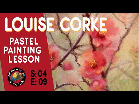 Fine art tips with Amazing Free Pastel Art Lesson with Louise Corke on Colour In Your life