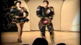 Sayas - Baile Caliente - kalamarka (pareja de caporales)