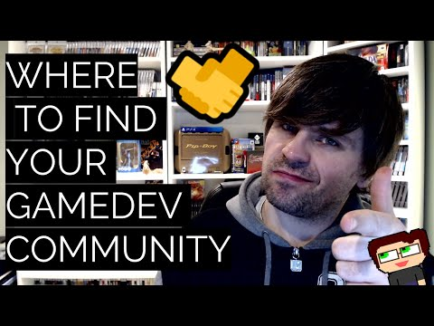 Thumbnail images for Where to find your GameDev Community (and to tell if they're any good) video
