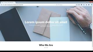 How to create company or business website using html and css Part-2 Mp3