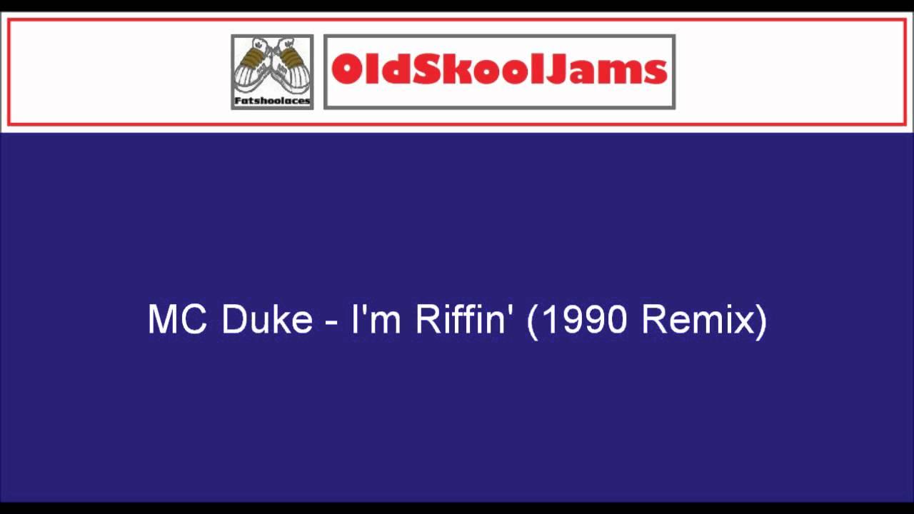 """MC Duke - I'm Riffin' (1990 Remix) 12"""" Vinyl HQ"""