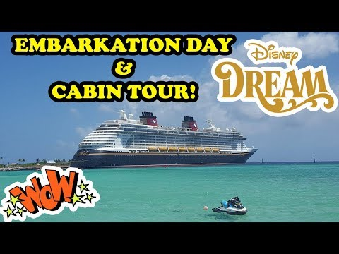 Disney Cruise Fantasy Family Fun Vacation! CABIN TOUR Double Dip Castaway Cay on Disney Cruise Line!