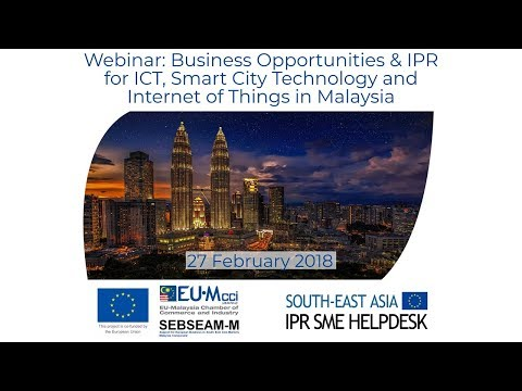 Webinar: ICT, Smart City Technology & Internet of Things in Malaysia