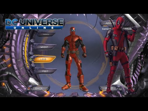 How To Create Deadpool In Dc Universe Online