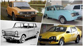 Редкие и опытные автомобили ИЖ о которых вы не знали.