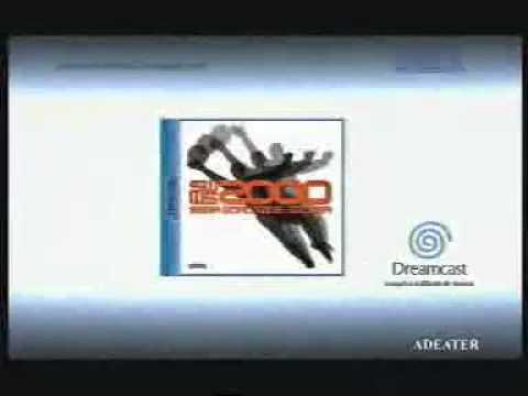 Publicité World Soccer 2000