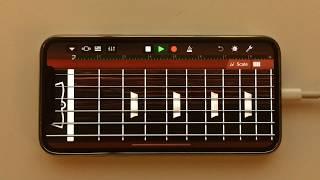 Ozzy Osbourne - Crazy Train Intro on iPhone (GarageBand)