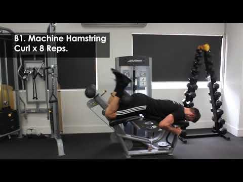 Total Body Tri Sets Workout