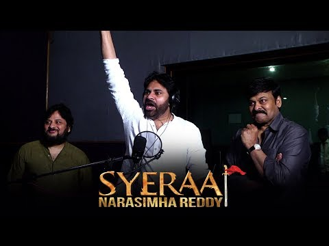 Pawan kalyan Dubbing voice for sye raa narasimha reddy Movie | Chiranjeevi |