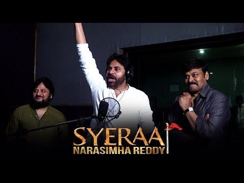 Pawan Kalyan Voice Over For Sye Raa Teaser - Promo - Chiranjeevi, Surender Reddy | Ram Charan