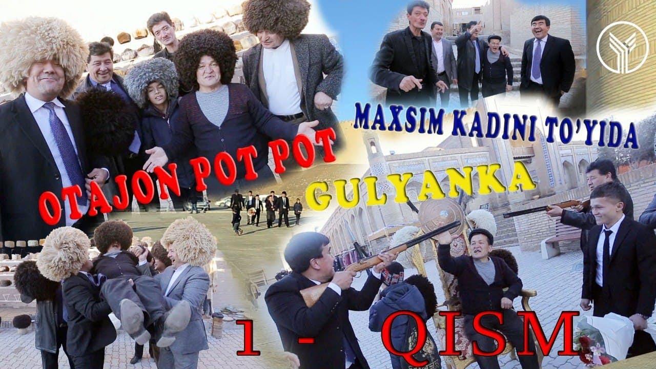 Otajon pot-pot Maxsim kadini to'yida (Gulyanka) 1-qism MyTub.uz TAS-IX