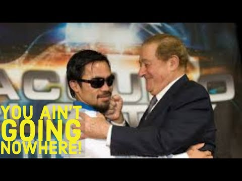 (WOW) BOB ARUM CLAIMS MANNY PACQUIAO IS LYING...IMPLIES HE IS INCOMPETENT |  CRAWFORD TAKE NOTES!
