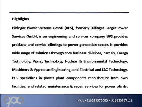 Bilfinger Power Systems GmbH   Strategic SWOT Analysis Review
