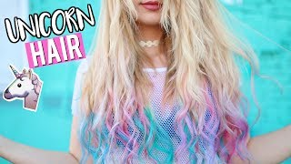 In this video I am dying my hair unicorn colors! This is something ...
