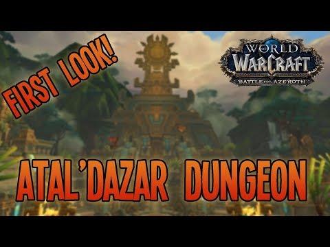 Battle for Azeroth (Alpha): ATAL'DAZAR DUNGEON [Full Run] - WoW: BfA Arms Warrior Gameplay