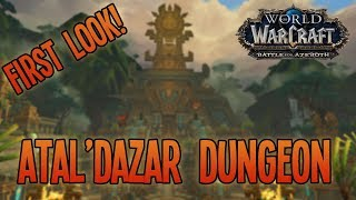 Battle for Azeroth (Alpha): ATAL'DAZAR DUNGEON [Full Run] - WoW: BfA Arms Warrior Gameplay