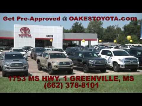 Delightful Oakes Toyota Greenville MS