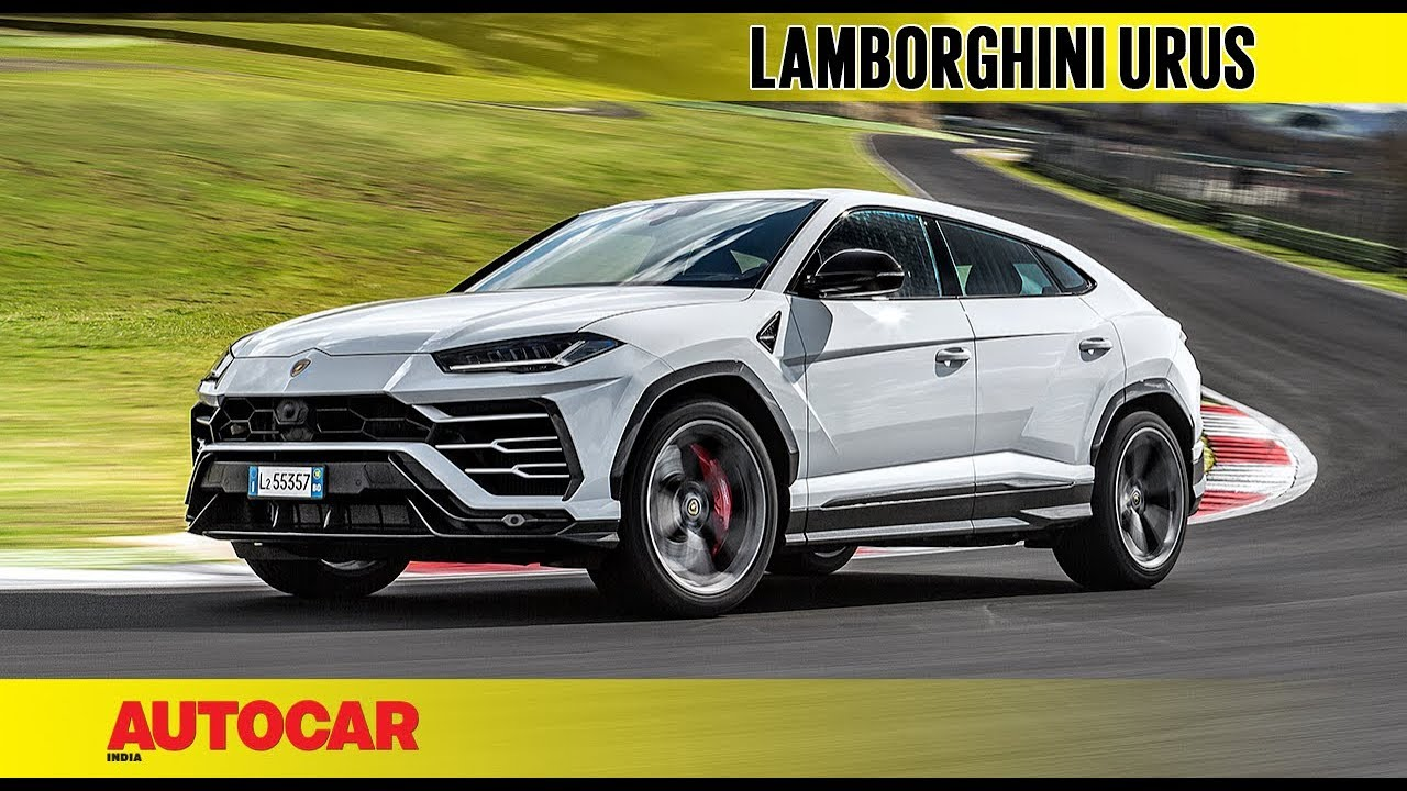 Lamborghini Urus First Drive Review Autocar India Youtube