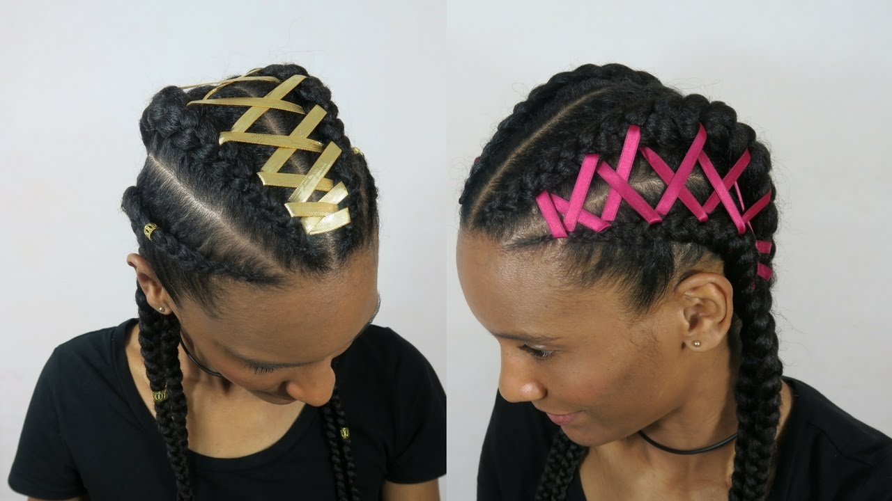 Corset Feed In Cornrows Extensions