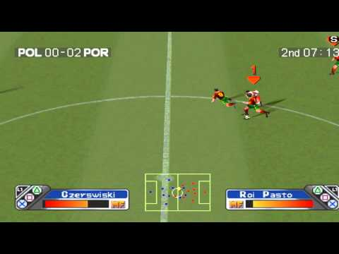 Super Shot Soccer Gameplay PS1