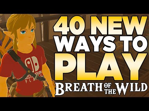 40 NEW Ways to Play The Legend of Zelda: Breath of the Wild  Austin John Plays