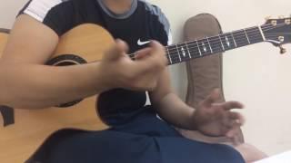 Hướng dẫn guitar Phía Sau Một Cô Gái (hợp âm chuẩn )