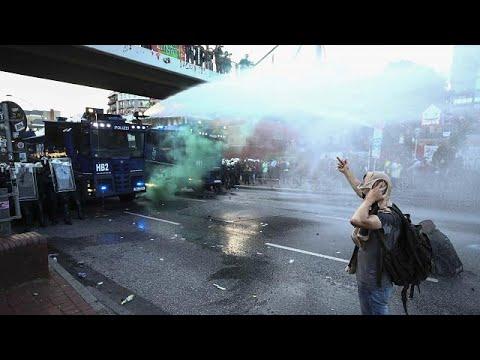 "Hamburg: ""Welcome to Hell""-Demonstration eskaliert"