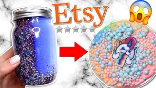 ZERO STAR ETSY SLIME SHOP REVIEW!