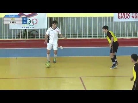 Armenian Futsal championship VSU vs ASUE (06.03.2016)