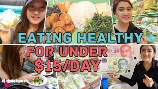Eating Healthy For Under $15 A Day - No Sweat: EP22