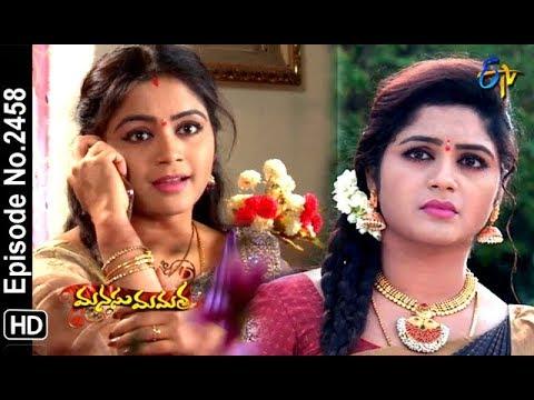 Manasu Mamata   6th December 2018   Full Episode No 2458   ETV Telugu thumbnail