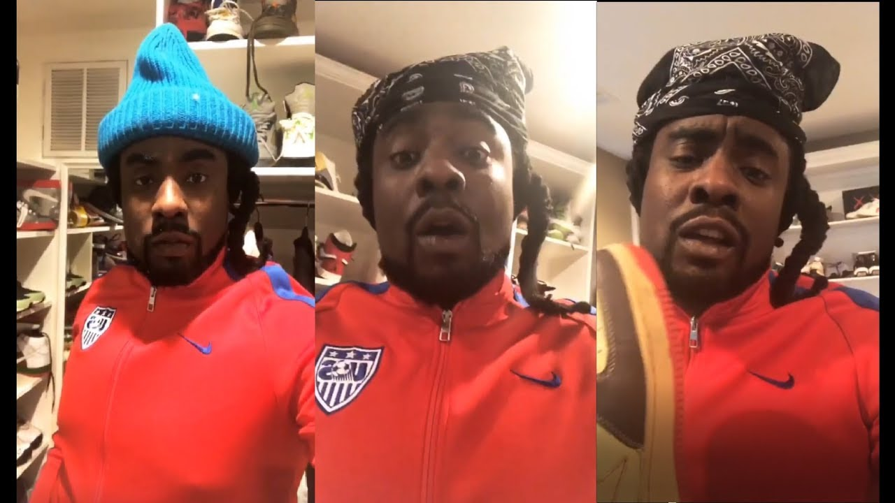 12ea27cb492613 WALE SPAZZES ON THE HYPEBEAST   SHOWS HIS SNEAKER COLLECTION - YouTube