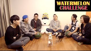 Watermelon Challenge ft. Eric Nam + Friends!