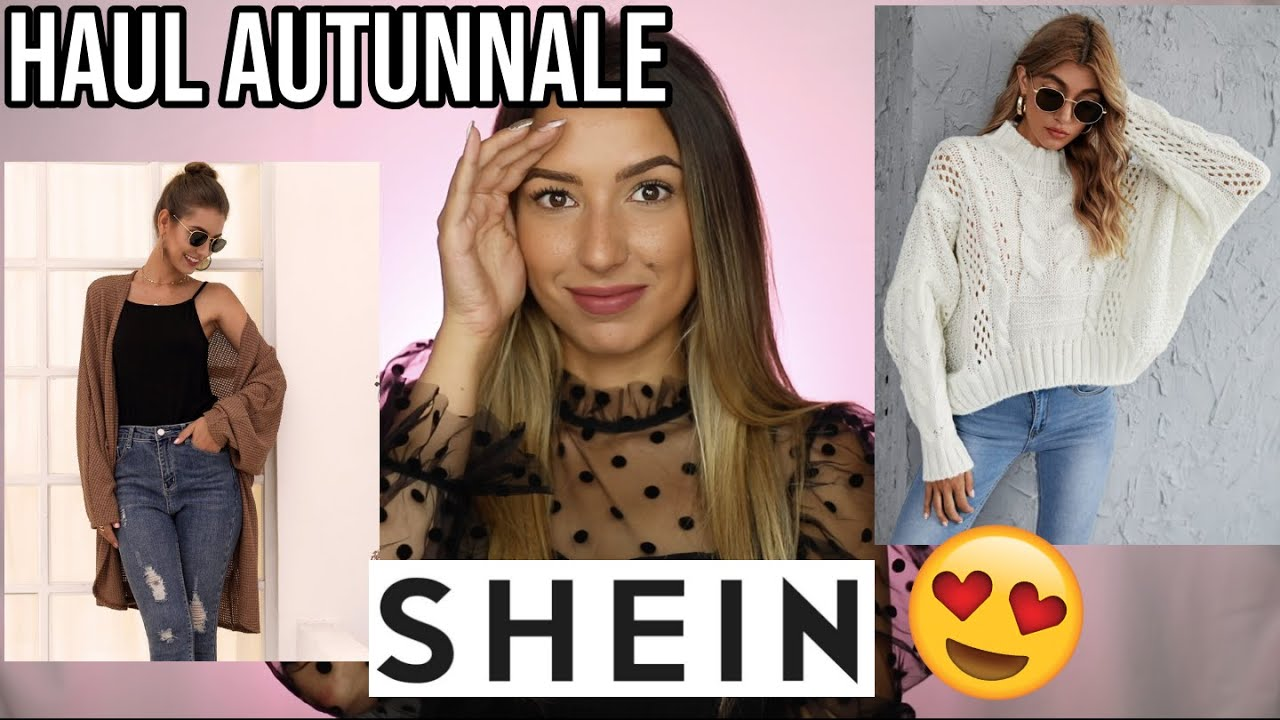 L'AUTUNNO STA ARRIVANDO😂 HAUL TRY ON SHEIN😍😍