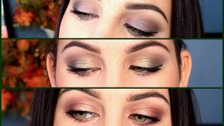 3 Shades Of Fall: Purple, Green & Cranberry! Thumbnail