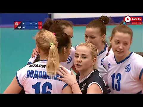 Волейбол, Суперлига: «Динамо-Метар» Челябинск VS «Ленинградка» Свердловская область
