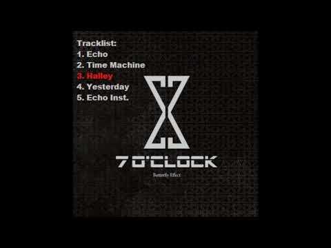 Seven o'clock 1st Mini Album- Buttferly Effect//