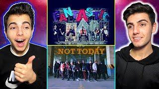K-POP TEPKİ !  BTS & BİGBANG  Not Today Reaction - Fantastıc Baby Reaction